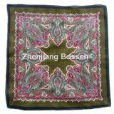 Bufanda barata promocional impresa Paisley por encargo del algodón de la insignia
