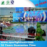 Stadium van het Plexiglas van het Stadium van het Glas van het Huwelijk van China Wholsale het Bewegende