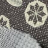 Cuoio del PVC del cuoio di stampa del cuoio dell'automobile del reticolo del Toothpick del PVC di alta qualità di certificazione dell'oro dello SGS