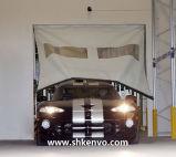 À grande vitesse à réparation automatique de tissu de PVC enroulent la porte pour l'entrepôt
