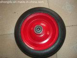 14X3 단단한 고무 바퀴