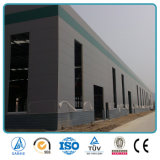 De geprefabriceerde Industriële Lichte Uitrustingen van de Bouw van het Pakhuis van de Opslag van het Frame van de Structuur van het Staal van het Ijzer van het Metaal Poort