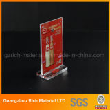 Acrylplakat/Decription Karten-Bildschirmanzeige/Acrylplastikhalter