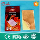 Le baume chinois frais de douleur de poivron de plâtre chaud d'allégement raccorde la taille 12 x 18cm