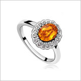 VAGULA runder Zircon-Form-Silber-Ring