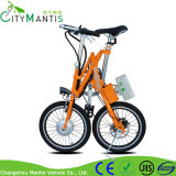 """18 """" 전기 자전거를 접히는 라이트급 선수 7 속도 신속 이탈 Portable"""