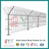 Galvanisierter Ziehharmonika-Sicherheits-Rasiermesser-Stacheldraht des Rasiermesser-Wire/PVC überzogener Hight