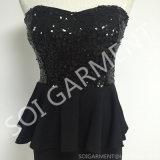 Сексуальное платье Bodycon Knit Sequin способа для женщин (DR-117)
