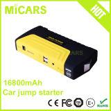 il dispositivo d'avviamento del ponticello di potere dei cavi 16800mAh supporta l'automobile del gasolio 2.8L