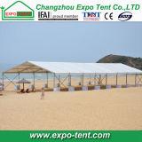 休暇の夏浜党テント