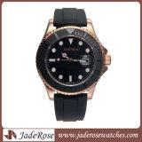 ギフトのための贅沢な男性用ステンレス鋼の腕時計は防水し、