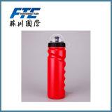 бутылка воды PE спорта 600ml или 750ml 500ml пластичная