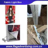 アルミニウムフレームが付いているLEDファブリック屋外のライトボックスを広告する習慣