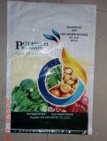肥料のためのPPによって編まれる袋を包む高品質