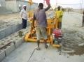 移動式ディーゼル卵置く機械/コンクリートブロック機械