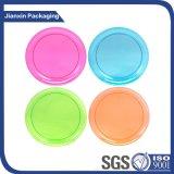 Eindeutiger Plastikplatten-Nahrungsmittelbehälter