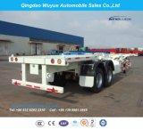 2半車軸40FT容器の骨組トラックのトレーラー