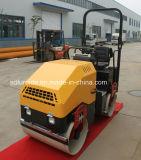 1700kg de hydraulische Trillings Dubbele Rol van het Asfalt van de Trommel Mini (fyl-900)