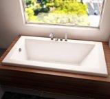 """72のx 42の""""インチはアクリルの浴槽の低下を埋め込む"""
