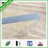 China personalizou a folha contínua da placa do policarbonato do material de construção plástico