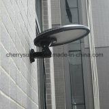 Lumière solaire extérieure populaire de mur du détecteur de mouvement DEL avec le prix usine