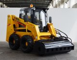Forklift do carregador do boi do patim da caixa Ws50 do lince com o motor Diesel mais plano