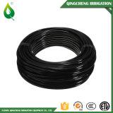 黒い0.6MPa PVC Layflat水まきの潅漑のホース