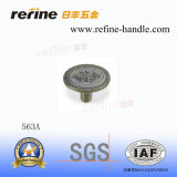 Bouton en alliage de zinc de meubles de matériel (Z-563A)