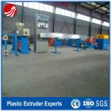 Linha de produção da extrusão da tubulação do PVC Compund do Aço-Plástico