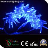 세륨, RoHS 증명서를 가진 백색 색깔 PVC 케이블 LED 가벼운 끈