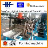 Rolo de aço galvanizado do pedal do andaime do MERGULHO quente que dá forma à máquina
