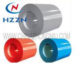 A cor revestiu a bobina de aço (PPGI)