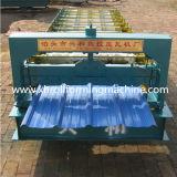 Roulis de panneau de toit d'acier inoxydable de couleur formant la machine