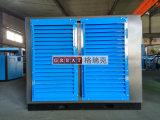 Compresor de aire rotatorio del tornillo del uso del sector de la construcción