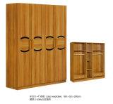 2 MDF van de deur Garderobe, de Garderobe van 3 Deur (9Y011)