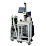 De aangepaste Automatische het Merken Laser die van de Lijn het Teken van de Machine op Plastiek merken