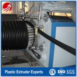 HDPEの螺線形の傷の管の放出機械