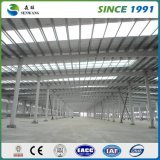 大きいスパンの鉄骨構造の倉庫の工場