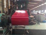 Il colore ha ricoperto la bobina d'acciaio galvanizzata PPGI di prova dello SGS di SNI