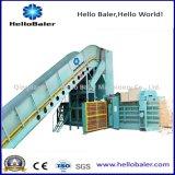 Máquina de empacotamento automática de Hellobaler para o recicl de papel