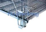Soldada grande de apilamiento de contenedores rígidos de alambre de malla