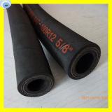 La spirale en caoutchouc à haute pression de fil d'acier de tuyau pose le tuyau en caoutchouc du tuyau R12