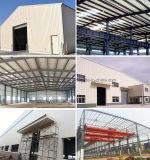 Portalrahmen-Licht-Stahlkonstruktion-Werkstatt mit Büro