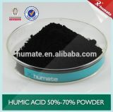 Fertilizante básico do ácido Humic do pó de X-Humate 50%Min