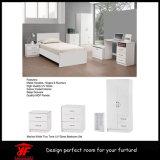 간단한 침실 벽 옷장 디자인 백색 침실 가구 세트