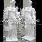 大理石像の石の彫像の花こう岩の彫像の白人のカラーラの彫像氏193