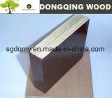 la película de 18m m hizo frente a la madera contrachapada con base de la madera dura de la melamina WBP