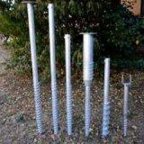 De spiraalvormige Stapels van de Schroef van de Grond voor Stichting van Zonne Photovoltaic Steunen