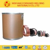 1.6mm Er70s-6 fester Draht des Schweißens-250kg/Pail (Trommel) von kohlenstoffarmer StahlWalzdraht Er50-6