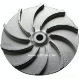 Pezzo fuso di investimento dell'acciaio inossidabile dell'OEM, pezzo fuso di precisione, ventola persa della cera